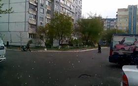 Апрельский снег добрался до Киева: появилось видео