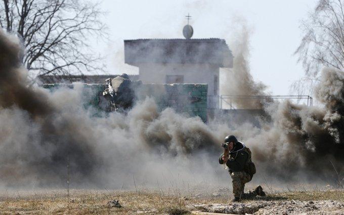 Военные России подтвердили факт обстрела Марьинки