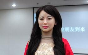 """Китайцы создали """"робота-богиню"""": опубликованы фото"""