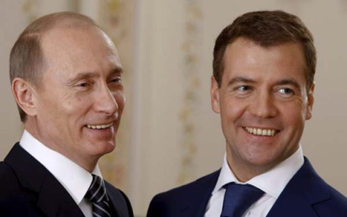 Подарунок Путіна Медведєву підірвав соцмережі: з'явилися фото і відео