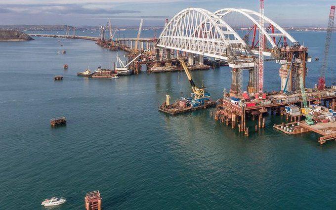 """Оккупационная """"власть"""" Крыма назвала сроки открытия Керченского моста"""