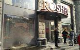 В Киеве за сутки дважды горел Roshen - опубликовано видео