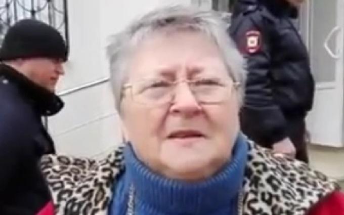 Россиянка ярко ответила путинскому пропагандисту: появилось видео