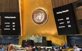 Порушення Росією прав людей в Криму: хто проголосував проти нової резолюції ГА ООН