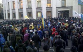 Митингующих под Радой не будут разгонять - МВД