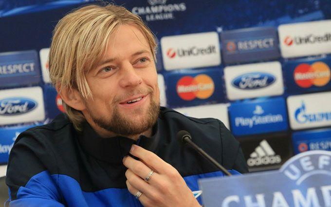 Тимощук принял предложение российского клуба