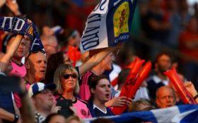 ФИФА оштрафовала Шотландию на 4 тысячи фунтов за свист фанатов в адрес гимна Англии