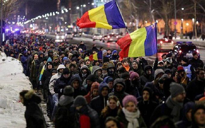Уходить вотставку премьер Румынии несобирается