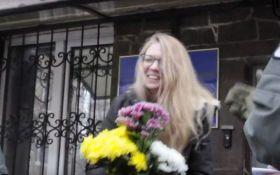 Фигурантка громкого процесса в Украине вышла на свободу: появилось видео