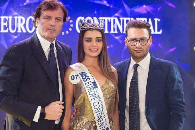 "В конкурсе ""Miss Europe Continental-2017"" победила украинка: появились фото"