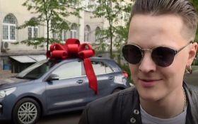Солист O.Torvald подарил жене автомобиль за сына