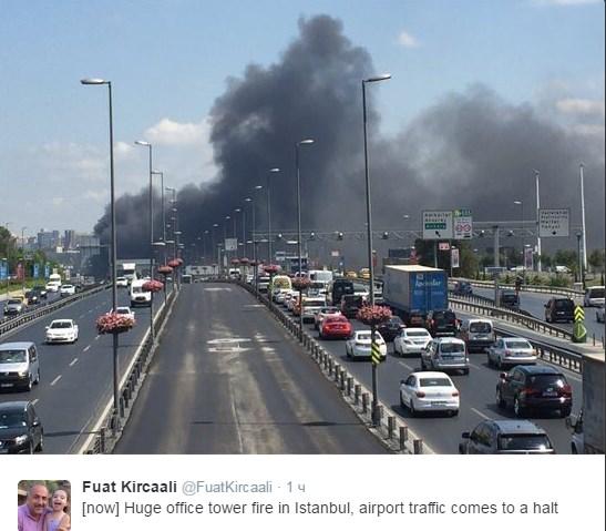 У Стамбулі розгорілася масштабна пожежа: з'явилися вражаючі фото і відео (1)