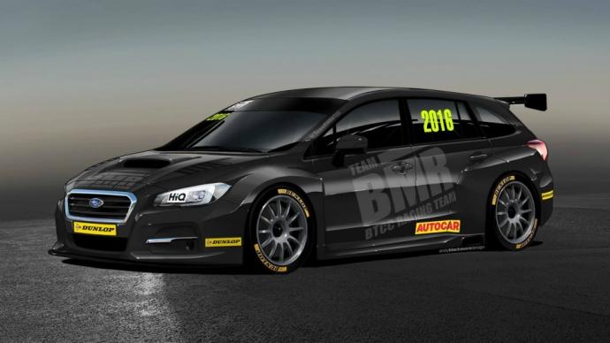 Subaru Levorg візьме участь у BTCC