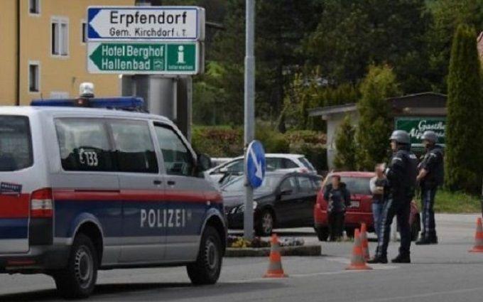 ВАвстрии неизвестный захватил заложника вбанке
