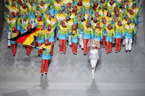 Церемония открытия Олимпиады-2014 (15 фото) (7)
