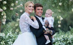 Кьяра Ферраньи вышла замуж за рэпера Fedez: появились первые свадебные фото и видео