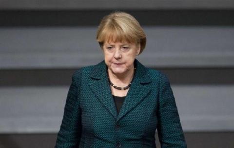 Меркель побачила зближення Росії і України на переговорах в Парижі (1)