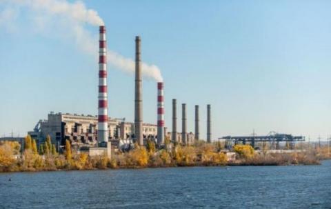 Придніпровська ТЕС відновила роботу в енергосистемі України (1)