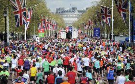 Рекордное количество: в 2017 году в Лондонском марафоне приняли участие 40 тыс. бегунов