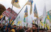 Мітинг під Верховною Радою: у Києві тисячі людей вийшли на протест (онлайн-трансляція)