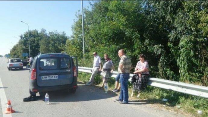 На Житомирщині священик на смерть збив дитину: опубліковані фото (1)