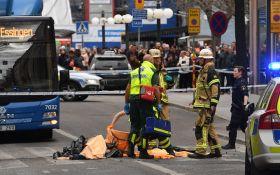 Наезд на толпу людей в Стокгольме: появились подробности о задержанном
