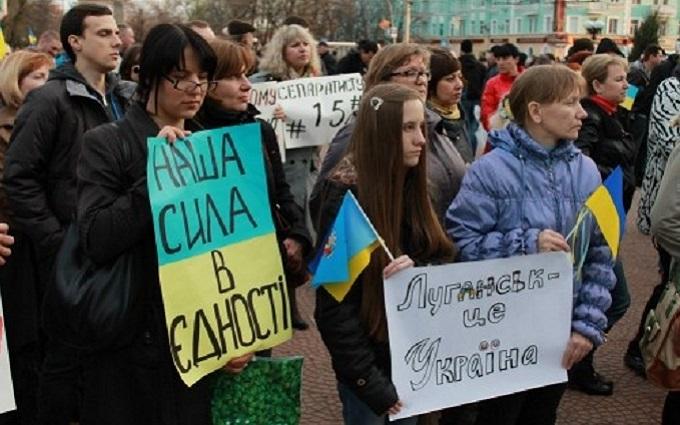 Активист о проукраинских акциях в Луганске: Я объяснял, что борются быдлогопы и ботаны