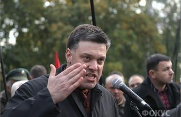 Тягнибок: Сценарий продления президентства Януковича уже запущен