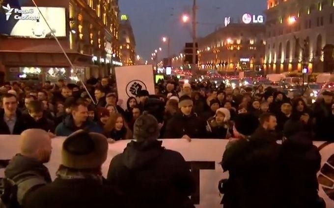 В Минске люди вышли на массовые протесты, соцсети взволнованы: появились фото и видео