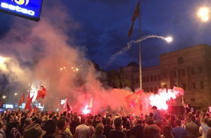 Мы не откажемся от названия: Македонию всколыхнули масштабные акции протеста