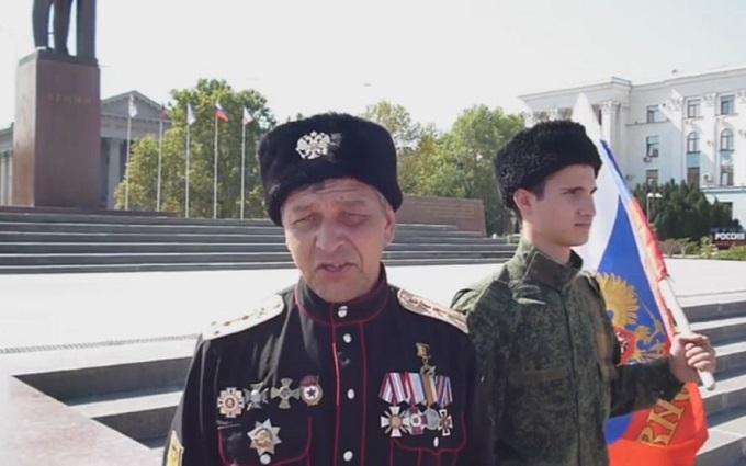 У Криму казаків-путінців затримали за пікети: з'явилися фото і відео (1)