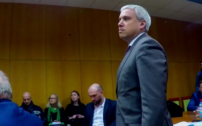 У Саакашвили произошел скандал с представителем СБУ: опубликовано видео