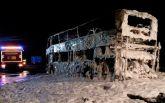 """В Германии сгорел автобус фанатов """"Баварии"""": опубликованы фото"""