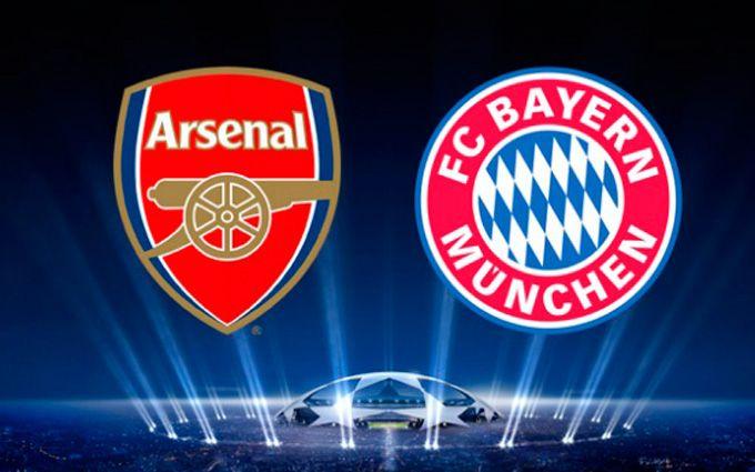 «Бавария» забила 10 голов в 2-х матчах с«Арсеналом» вЛиге чемпионов