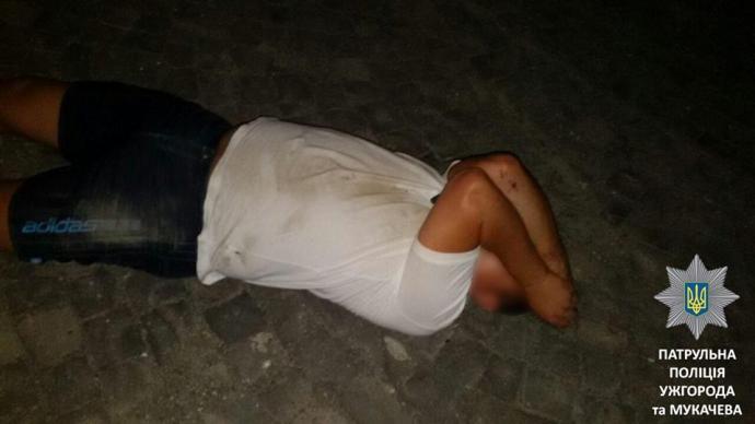 На Закарпатті п'яний чиновник намагався втекти від поліції: опубліковано фото (1)
