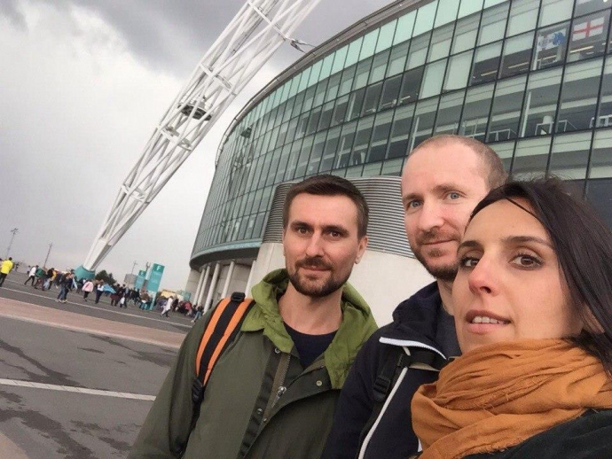 Джамала підспівувала відомій групі в Лондоні: з'явилося фото і відео (2)