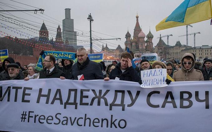 Савченко поддержала своего адвоката: Марк, ты дурак?