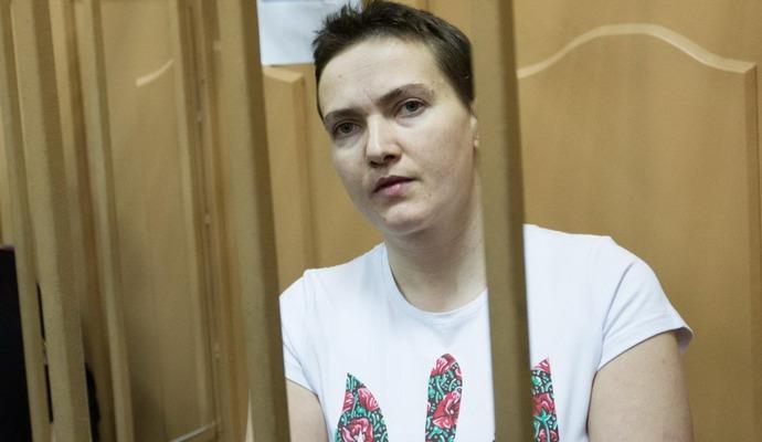 Савченко в суде: я солдат, а не убийца
