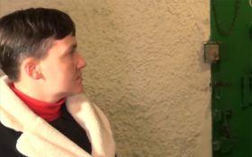 """Бойовики """"пнули"""" Савченко щодо її заяв на Донбасі: з'явилося відео"""