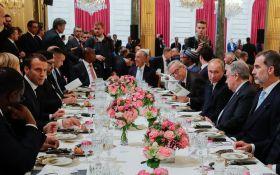 Продуктивна дискусія: про що говорили Трамп, Путін, Макрон і Меркель в Парижі