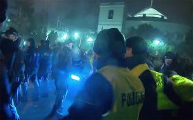 """""""Майдан"""" в Польщі: з'явилося нове відео сутичок з поліцією"""