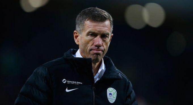 Катанец покинет пост главного тренера сборной Словении после матча против Шотландии