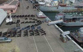 Українські моряки підключилися до військового флешмобу і захопили мережу: з'явилося відео
