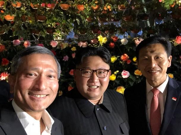 Кім Чен Ин здивував світ першим селфі (1)