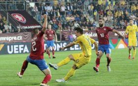 Гол на последней минуте: Украина обыграла Чехию в Лиге наций