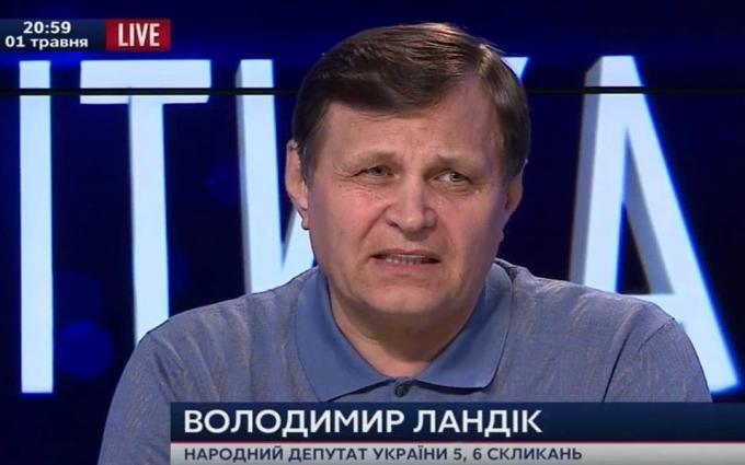 Єфремов здав Луганськ під гарантії від Путіна - екс-нардеп Ландик