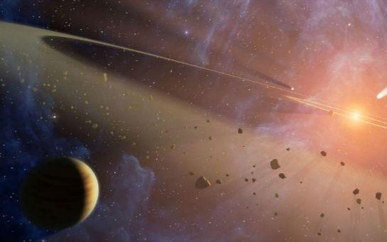 Астрономы показали очень странную планету-гиганта на видео