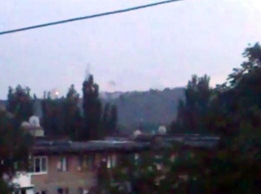 У мережі з'явилися фото і відео нового бою на Донбасі (1)