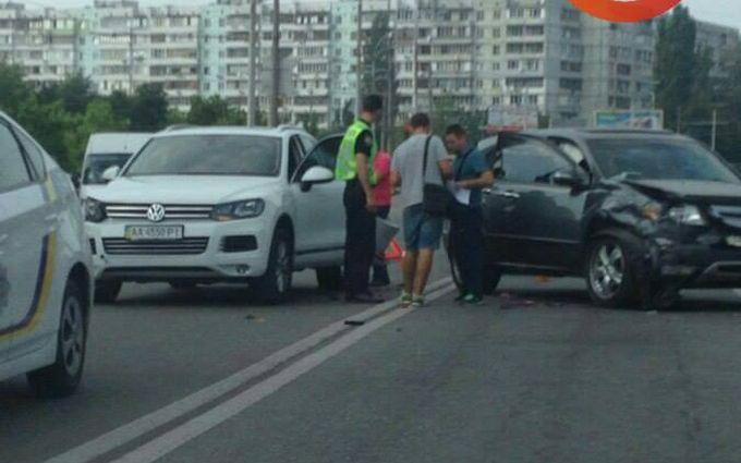 У Києві сталася масштабна ДТП з авто патрульних: з'явилися фото