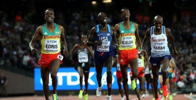 Мо Фара проиграл Эдрису 5000 метров